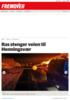Ras stenger veien til Henningsvær