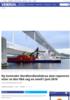 Ny kontrakt: Nordhordlandsbrua skal repareres etter at den fikk seg en smell i juni 2019