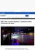 Søk etter savnet dykker i Drøbaksundet fortsetter på land