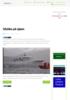 Ulykke på sjøen