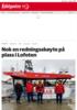 Nok en redningsskøyte på plass i Lofoten