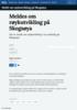 Meldes om røykutvikling på Skogsøya