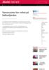 Vannscooter har veltet på Salhusfjorden - søker etter savnet person