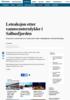 Leteaksjon etter vannscooterulykke i Salhusfjorden