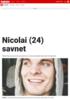 Nicolai (24) savnet