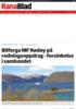 Bilferga MF Rødøy på redningsoppdrag - forsinkelse i sambandet