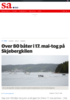 Over 80 båter i 17. mai-tog på Skjebergkilen