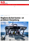 Reglene du bør kunne - et problem i Sarpsborg