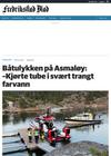 Båtulykken på Asmaløy: -Kjørte tube i svært trangt farvann