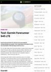 Test: Garmin Forerunner 945 LTE