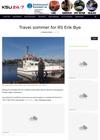 """Travel sommer for redningsskøyta """"Erik Bye"""""""