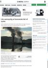 Lite sannsynlig at brennende båt vil synke
