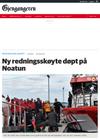 Ny redningsskøyte døpt på Noatun