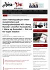 Stor redningsaksjon etter maskinstans på Hurtigruteskipet MS «Kong Harald» utenfor Hustadvika i Møre og Romsdal: - Går nå for egen maskin