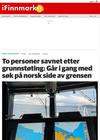 Én omkom og to savnet etter grunnstøting: Bistår med søk på norsk side av grensen